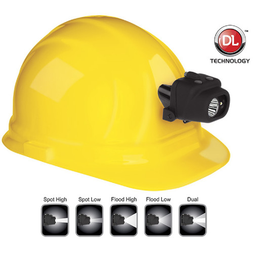 Nightstick NSP-4608BC Headlamp w/Hard Hat Clip & Mount