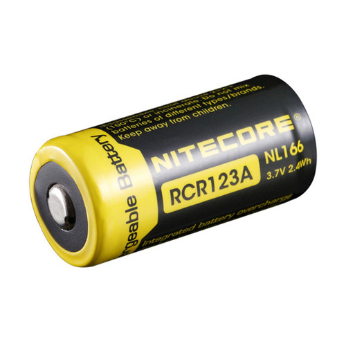 Nitecore RCR123A Rechargeable Battery