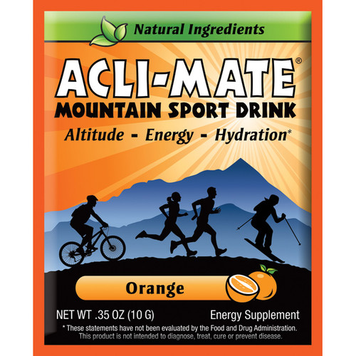 ACLI-MATE MTN ORANGE PACKET