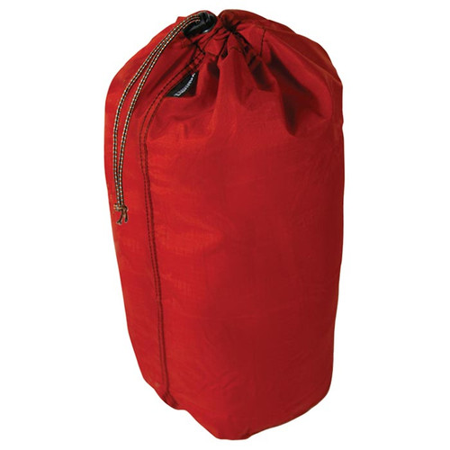 "BILBY STUFFSACK 10"" X 21"" RED"