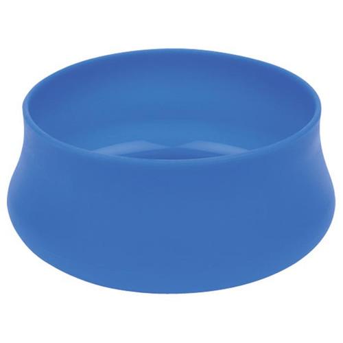 SQUISHY DOG BOWL MD 32OZ BLUE