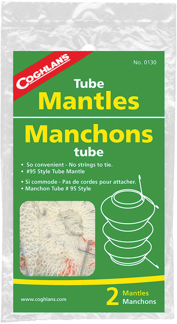 CLIP ON TUBE MANTLE 2 PK