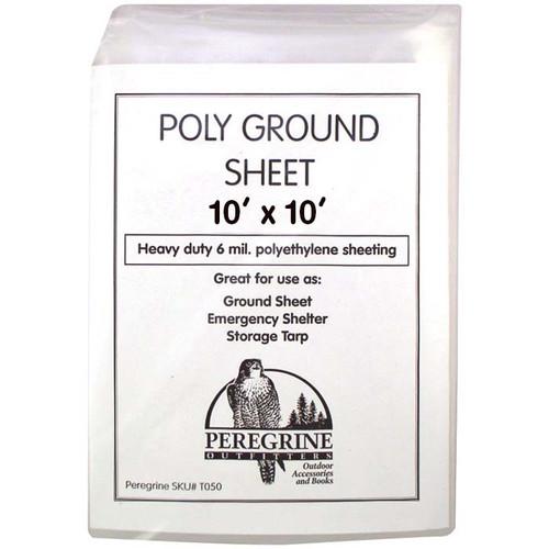 POLY GROUND SHEET 10 X 10