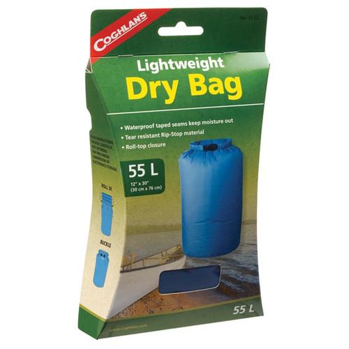 LIGHTWEIGHT DRY BAG 55 L BLUE