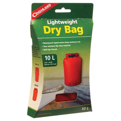 LIGHTWEIGHT DRY BAG 10 L RED