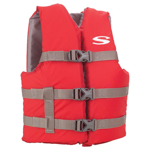 CLASSIC VEST YOUTH RED