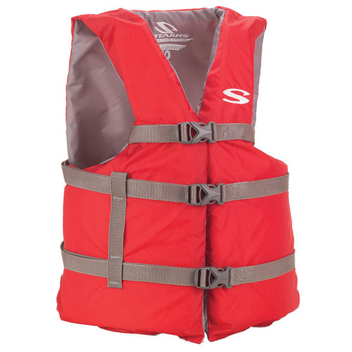 CLASSIC VEST ADULT OVRSZ RED
