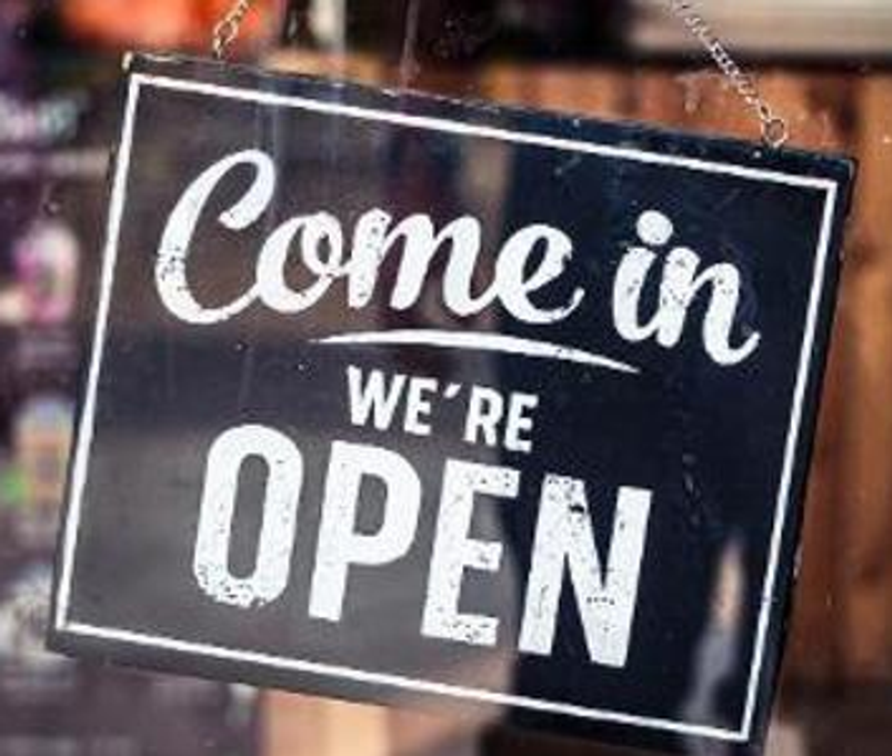 Open For Business & Why That is Important News