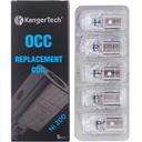 5 Pack Kanger Subtank OCC NI 200 Coil Heads