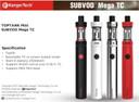 Kanger Subvod Mega TC Starter Kit specification