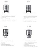 3 Pack SMOK TFV8 Tank V8 Turbo Coils