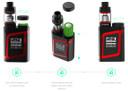 Top battery Slot for Smok AL85 Mod