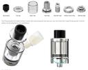 Wismec Reuleaux RX Mini Starter Kit Components & Top Filling System