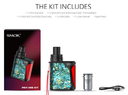 SMOK Priv One AIO Vaping Kit Contents