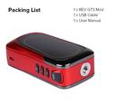 REV GTS 230w Box Mod Box Contents