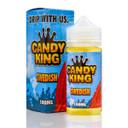 Swedish 100ml (120ml with 2 x 10ml nicotine shots to make 3mg) by Candy King (Zero Nicotine)
