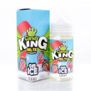Belts Strawberry On Ice 100ml Short Fill E Liquid (120ml with 2 x 10ml nicotine shots to make 3mg) by Candy King  (Zero Nicotine)