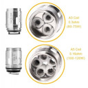 5 Pack Aspire Athos Atomizer Coil Heads A3 or A5