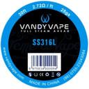Vandy Vape SS316L Wire 28GA