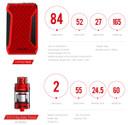 Smok H-Priv 2 225W Vape Kit Components Specification