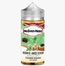Vanilla Mint Cookie Dough Ice Cream E Liquid (Zero Nicotine & Free Nic Shots to make 120ml/3mg) by Heaven Haze