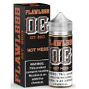 Hot Mess E Liquid Shortfill (120ml with 2 x 10ml nicotine shots to make 3mg) by Flawless OG E Liquid Only £18.99 (Zero Nicotine)
