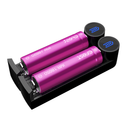 Efest Slim K2 Dual Bay Battery Charger - Side View
