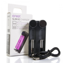 Efest Slim K2 Dual Bay Battery Charger - Packaging & Contents