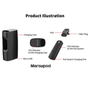 Uwell Marsupod PCC Pod Starter Kit Parts