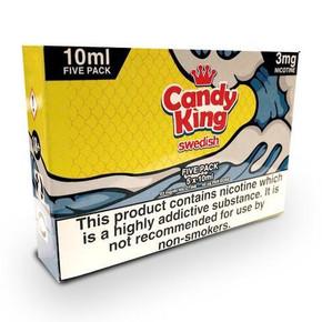 Swedish E Liquid 5 x 10ml By Candy King