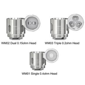 5 Pack Wismec WM Gnome Coil Heads WM01 WM02 WM03 COILS