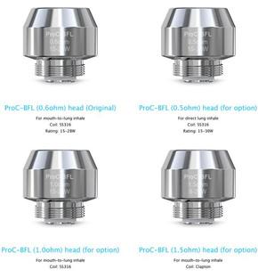 5 Pack Joyetech ProC BFL Coil Atomizer Heads