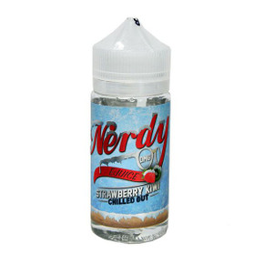Strawberry Kiwi Chilled Out E Liquid 80ml Shortfill (100ml Shortfill with 2 x 10ml nicotine shots to make 3mg) By Nerdy
