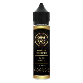 Cool Grape Shortfill E Liquid 50ml by OMVG (FREE NICOTINE SHOT)