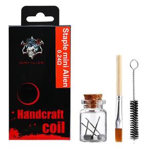 Demon Killer Handcraft Staple Mini Alien Prebuilt Wire Set Ni80 0.24 Ohms