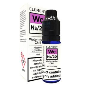 Watermelon Chill - Element NS20 - 20mg Nicotine Salts E Liquid - 10ML