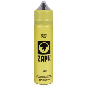 Snow Pear E Liquid 50ml by Zap! Only £9.49 (Zero Nicotine or with Free Nicotine Shot)