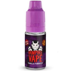 Vanilla Tobacco E Liquid 10ml By Vampire Vape
