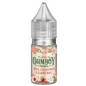 Apple, Elderflower & Garden Mint Nic Salt 20mg E Liquid By Ohm Boy - 10ml