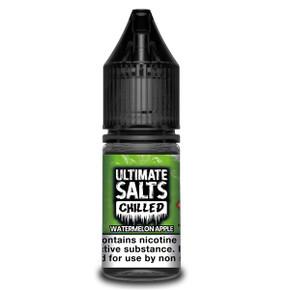 Watermelon Apple Chilled - Ultimate Salts - 10ml Nic Salts