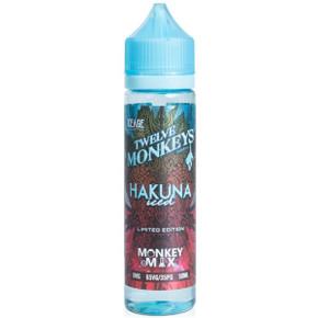 Hakuna Iced E Liquid 50ml By Twelve Monkeys