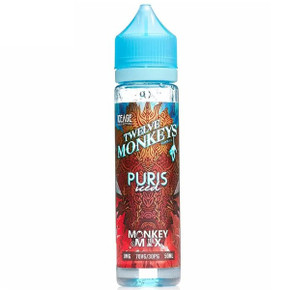Puris Iced E Liquid 50ml Short Fill By Twelve Monkeys