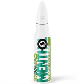 Lemon Cucumber Menthol E Liquid 50ml by Riot Squad  £9.99 inc Free Nic Shot