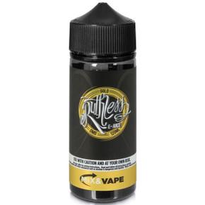 Gold E Liquid 100ml by Ruthless Vapor (Zero Nicotine & Free Nic Shots to make 120ml/3mg)