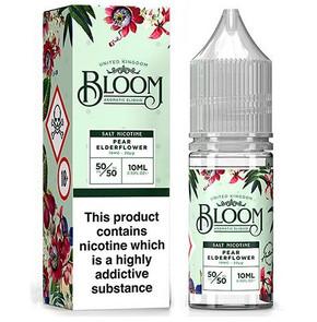 Pear Elderflower Nic Salt E Liquid 10ml By Bloom