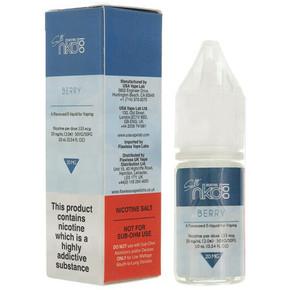Berry Nic Salt E Liquid 10ml by Naked 100