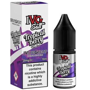 Tropical Berry Chew Nic Salt E Liquid 10ml By I VG