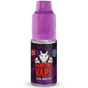 Cool Red Lips E Liquid 10ml By Vampire Vape