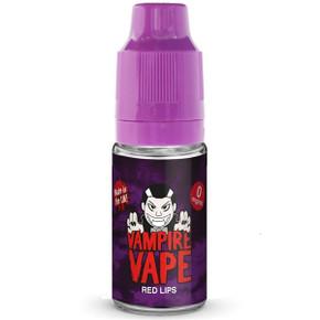 Red Lips E Liquid 10ml By Vampire Vape