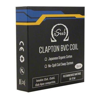 5 Pack Innokin iSub Clapton Coils